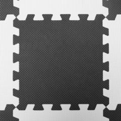 Развивающий коврик-пазл Kinderkraft Luno Black