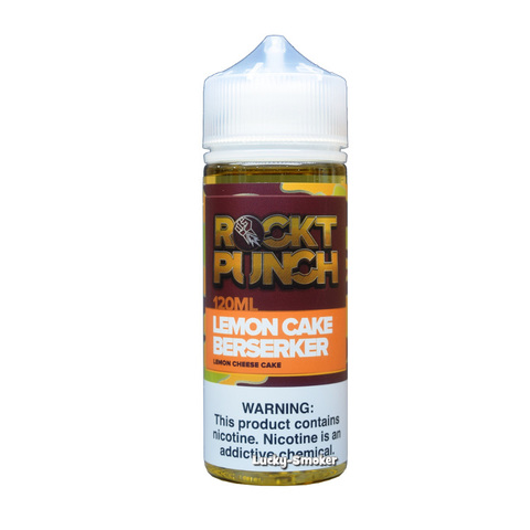 Жидкость Rockt Punch 120 мл Lemon Cake Berserker