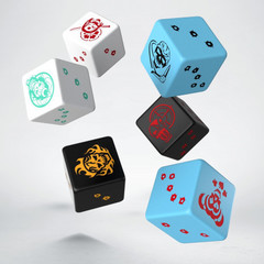 Batman Miniature Game - D6 Suicide Squad Dice Set (6)
