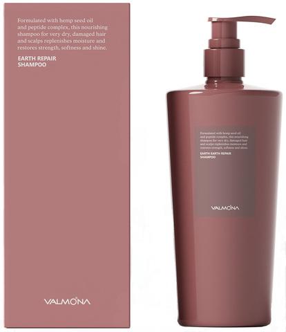 EVAS VALMONA Шампунь для волос ВОССТАНОВЛЕНИЕ Earth Repair Bonding Shampoo, 500 мл