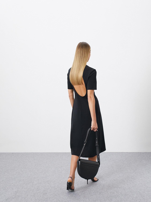 Платье Jenis с вырезом на спине