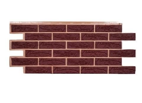 Фасадная панель Лондон Брик - Коричневый