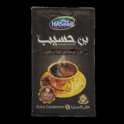 Арабский кофе с кардамоном extra Cardamon Хасиб HASEEB, 500 гр