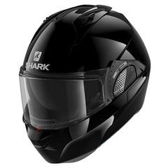Мотошлем-модуляр Shark Evo-GT Blank, чёрный