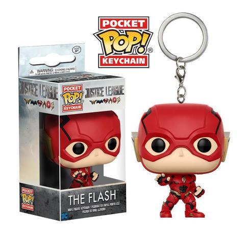 Брелок Funko Pocket POP! Keychain: DC: Justice League: Flash 13791-PDQ