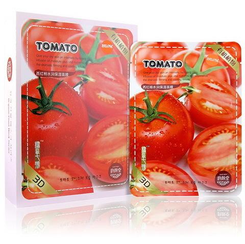 Тканевая маска для лица с томатом (Корея)