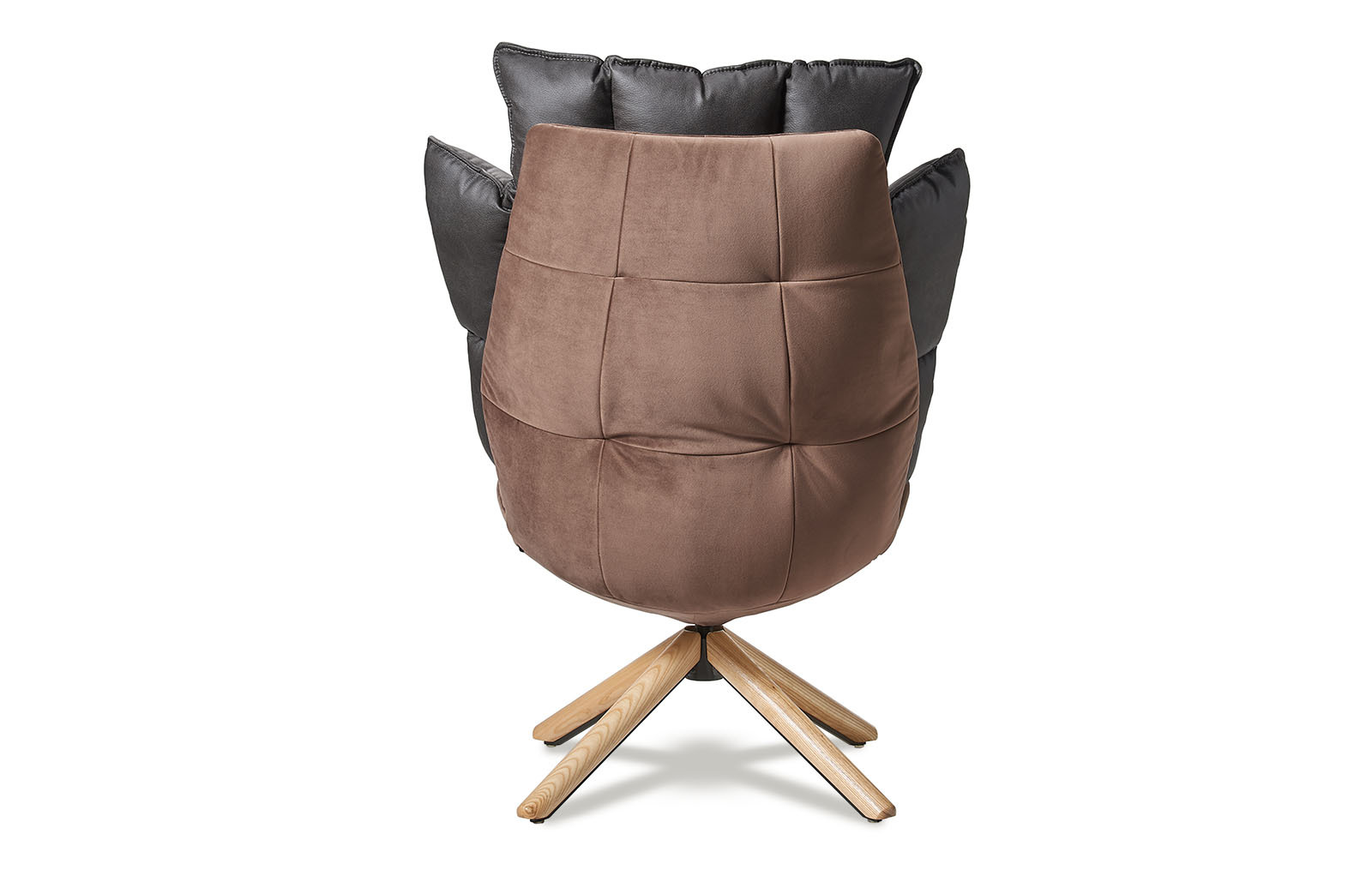 Кресло DC-1565C коричневое