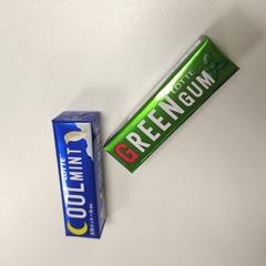 Жевательная резинка Lotte Green Gum со вкусом мяты 25,2 гр