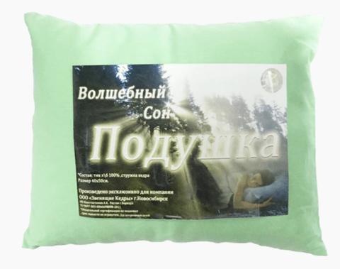 Подушка из кедровой стружки 40*50 см
