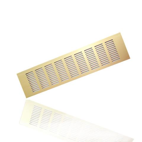 RA1050G Решетка 100х500мм Золото
