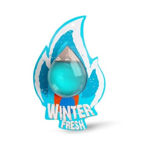 Ароматизатор Fire Fresh (Winter Fresh/Зимняя свежесть) (мембранный)