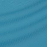 Мелкоузорчатая тонкая шерстяная ткань циан