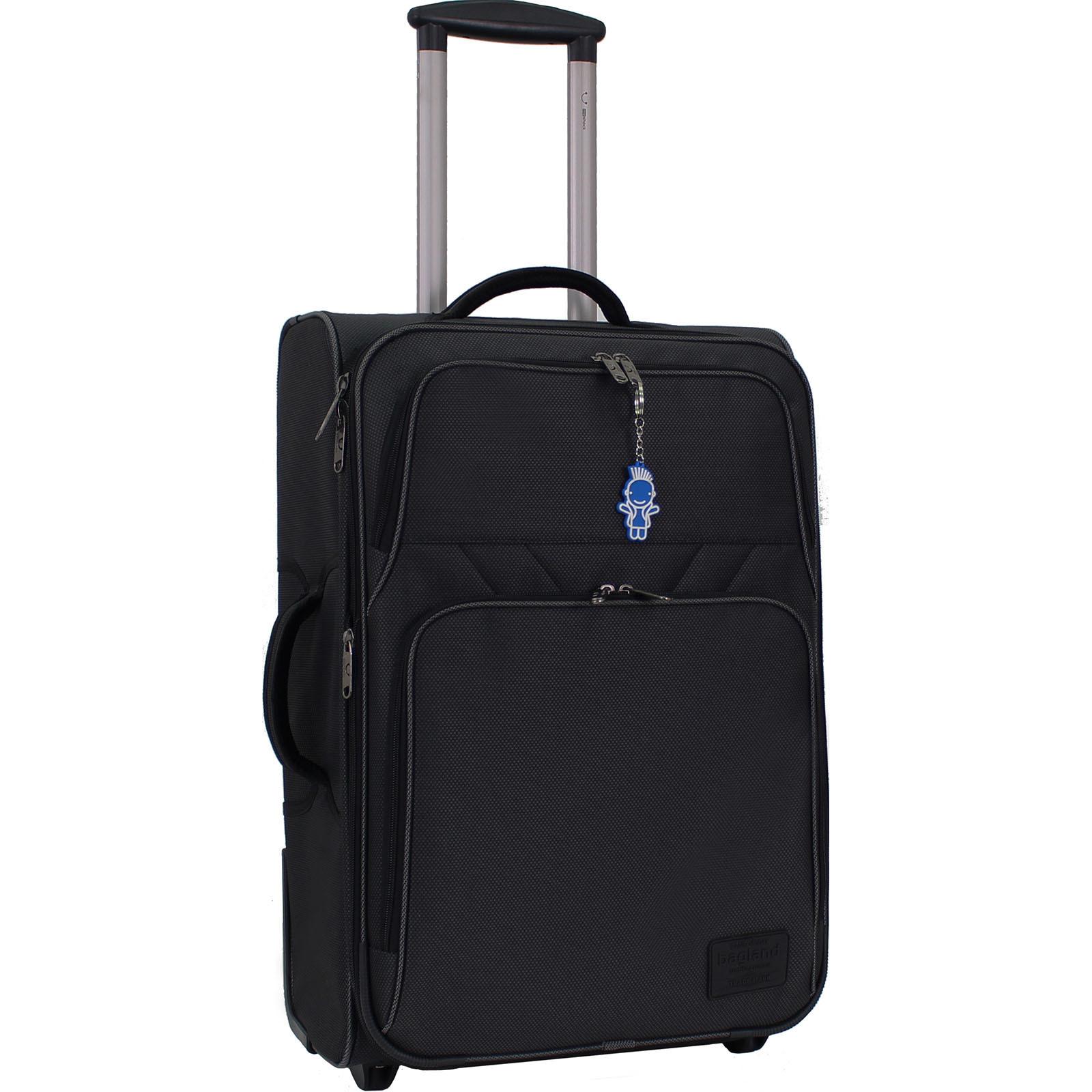 Дорожные чемоданы Чемодан Bagland Леон средний 51 л. Чёрный (0037616924) IMG_1814.JPG