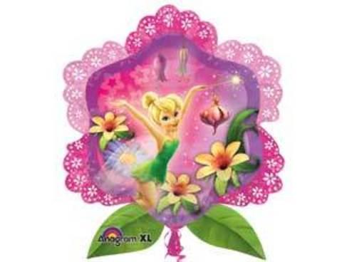 Фольгированный шар Фея в цветах
