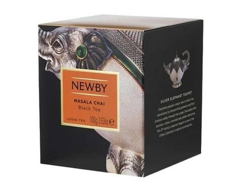 Чай черный листовой Newby Heritage Masala chai, 100 г