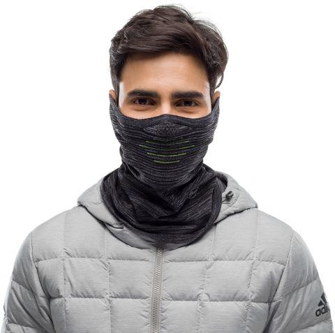 Бандана-маска Buff Dryflx Neckwarmer Black фото 2
