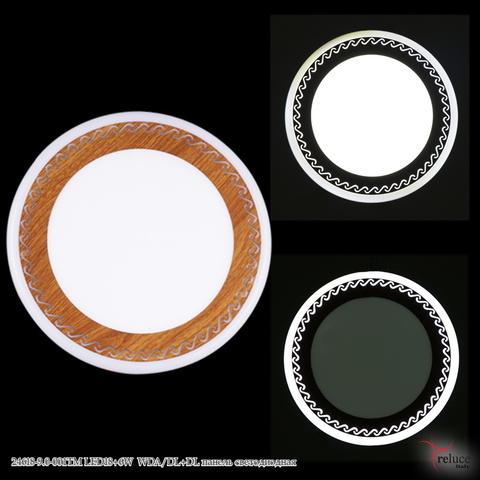 24618-9.0-001TM LED18+6W WDA/DL+DL панель светодиодная