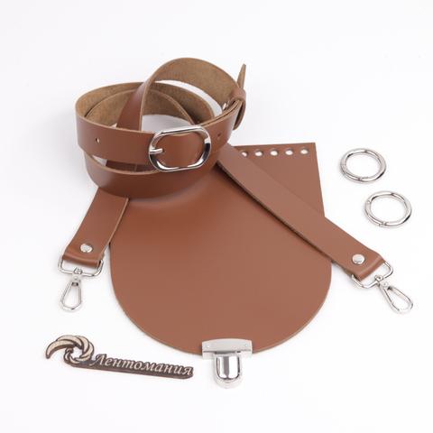 """Комплект для сумочки Орео """"Молочный шоколад"""" N2"""