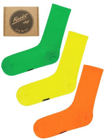 Набор ярких носков 3-66