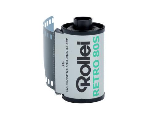 Фотопленка Rollei retro 80s/135-36Копировать товар