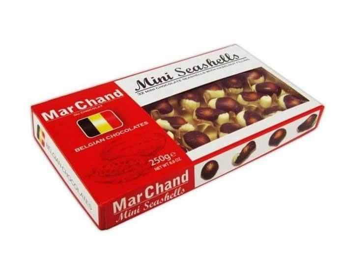 Шоколадные конфеты «Мини- ракушки» MarChand, 250 г