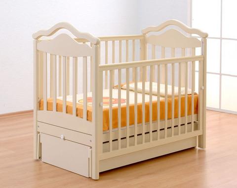 Детская кроватка Гандылян Анжелика маятник продольный