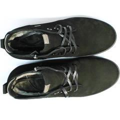 Ботинки мужские натуральная кожа натуральный мех Ikoc 1617-1 WBN.