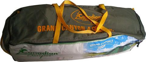 Палатка Canadian Camper GRAND CANYON 4, цвет forest, сумка.