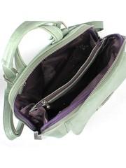 Рюкзак мятного цвета с объемным накладным карманом