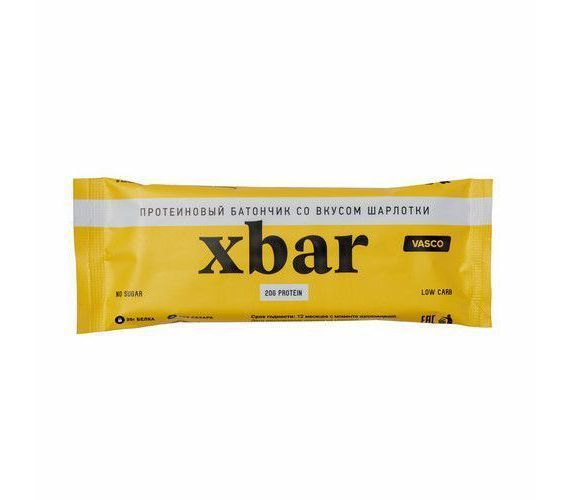 Протеиновый батончик Xbar Шарлотка 60г VASCO