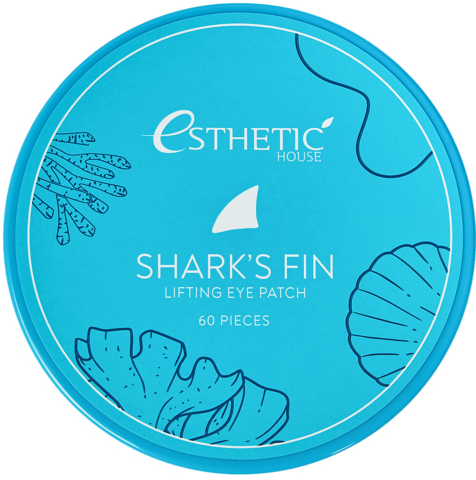 Гидрогелевые патчи для глаз с экстрактом акульего плавника ESTHETIC HOUSE Shark's Fin Lifting Eye Patch