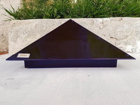 Колпак металлический на столб Эконом RAL 5002
