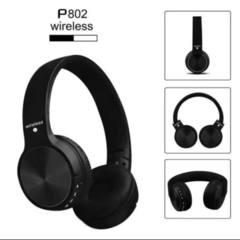 Qulaqcıq / Наушники / Headphones Wireless stereo headphones P-802 extra bass (black)