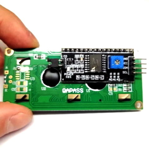 Набор дисплей LCD2004 + LCD конвертер в IIC/I2C
