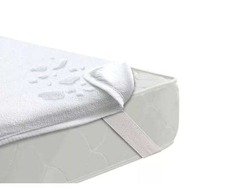 Непромокаемый наматрасник с резинками по углам Express