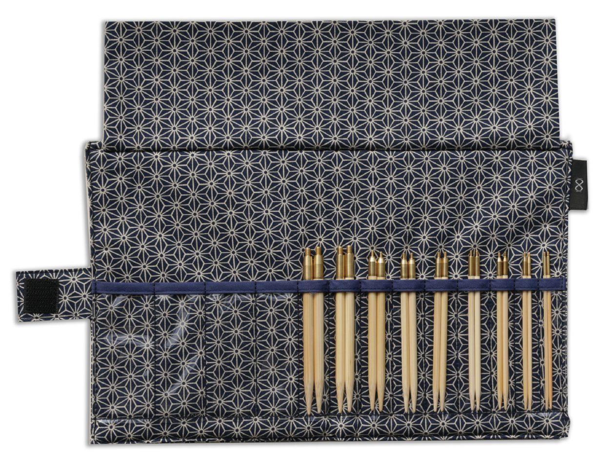 Ka Seeknit KOSHITSU Набор спиц 10см 9 размеров