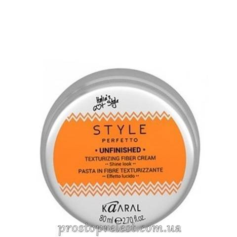 Kaaral Style Perfetto Unfinished Texturizing Fiber Cream - Волокниста текстуруюча паста