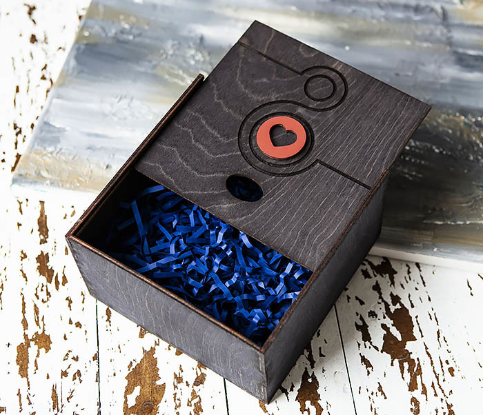 BOX221-1 Коробка для подарков к Международному Женскому Дню (17*17*10 см) фото 04