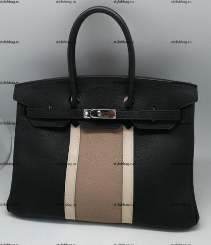 Женская сумка Hermes Birkin 35 togo Black2