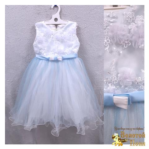 Платье на корсете девочке (5-6) 201204-ТР7755