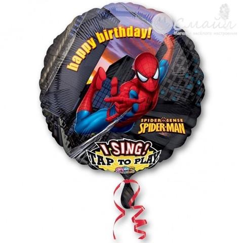 Шар круг поющий Человек паук