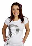 Женская хлопковая футболка Patrizia Pepe