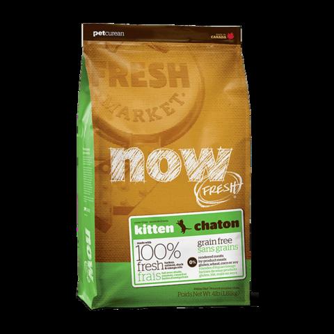 Now Fresh Сухой корм для котят с индейкой, уткой и овощами беззерновой