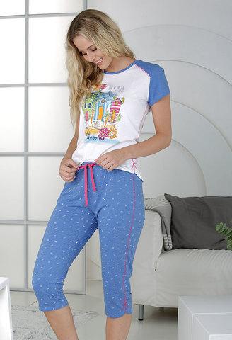 Пижама женская с бриджами Massana MP_211203