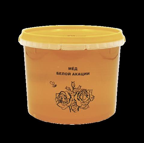Мёд натуральный (белой акации) АКАЦИЕВЫЙ, 1 кг