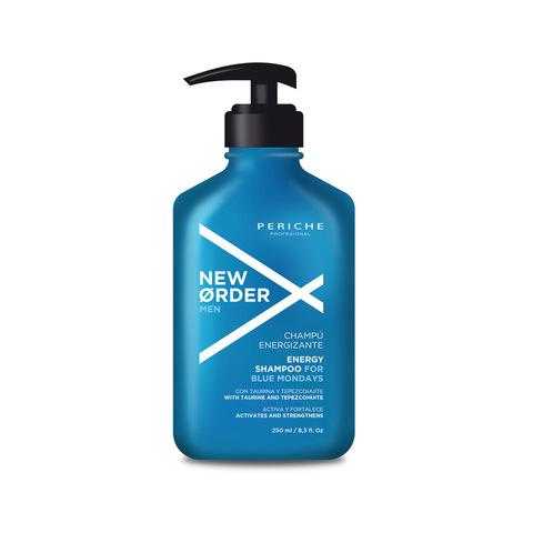 Восстанавливающий шампунь «Energy Shampoo» линии «New Order» из мужской линии