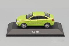 Lada Vesta 2015 green 1:43 DeAgostini Auto Legends Russia #1