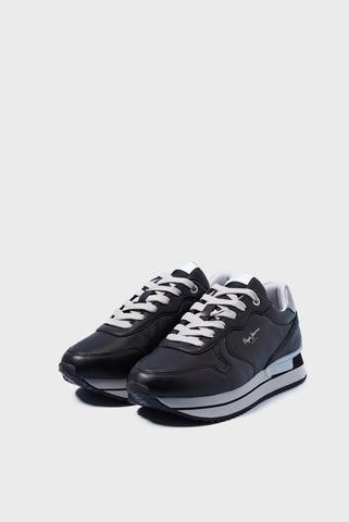 Женские черные кроссовки RUSPER BASS21 Pepe Jeans