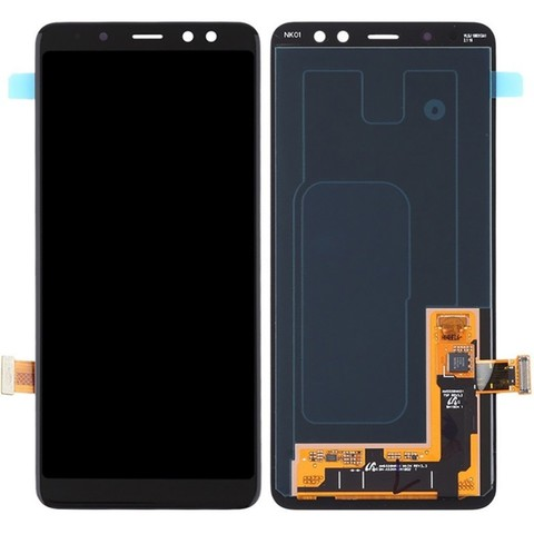 LCD SAMSUNG A8 2018 A530F + Touch Black Orig