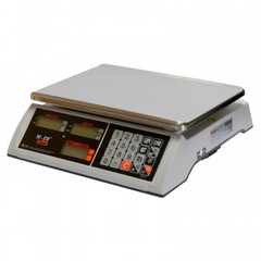 Весы торговые настольные M-ER 327AC-15.2 Ceed,LCD, белые_3017